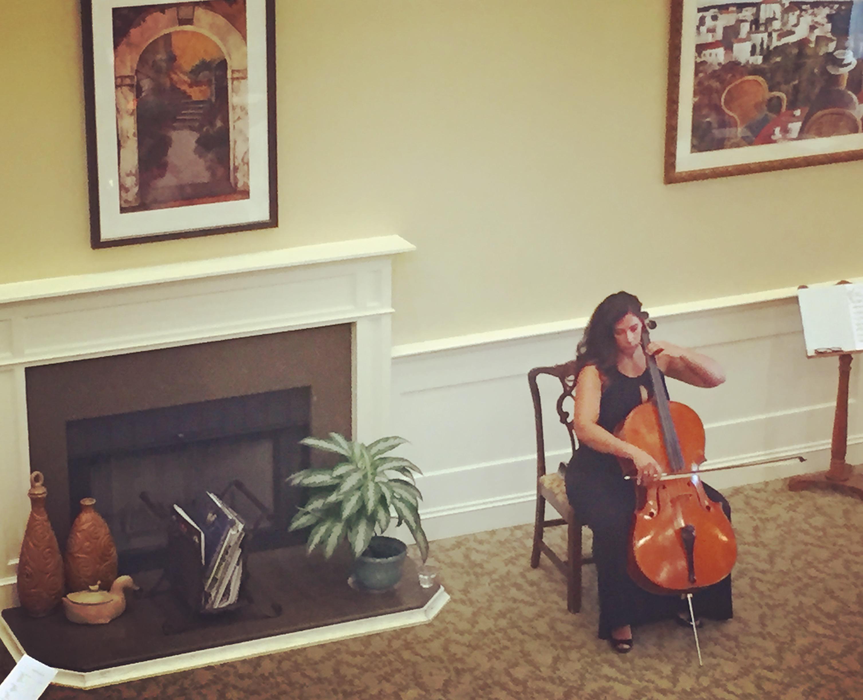 Performing in Savannah