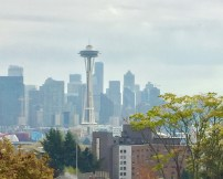 View of Downtown Seattle from Kerry park