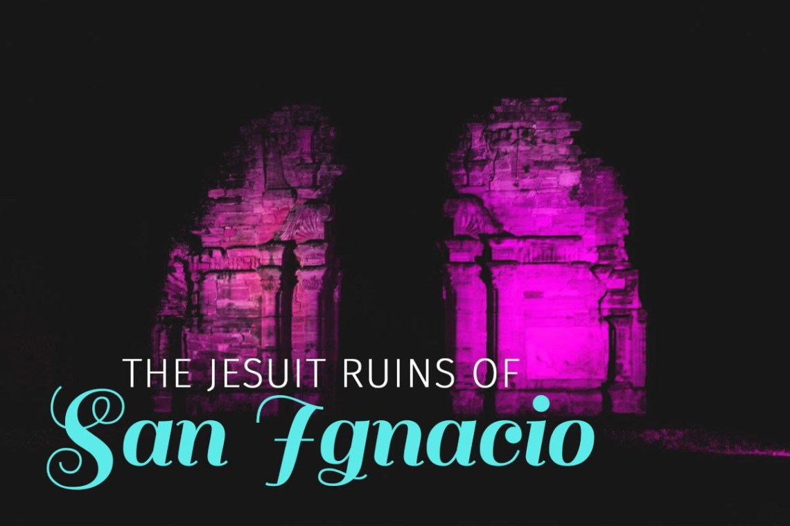 We took a stop in the small Argentinian town of San Ignacio mini to visit the old Jesuit Ruins in the area. Not knowing much of the history we were excited to see the ruins during the night show they offered. https://wp.me/p9dhAr-8X