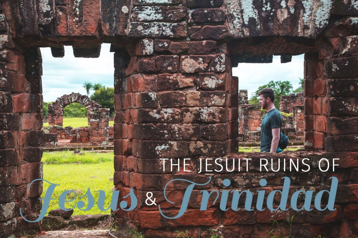 title - An afternoon alone in the Jesuits ruins of Trinidad and Jesus, Encarnacion, Paraguay. Two beautiful sites to learn more about the Guaranis and the missions. https://wp.me/p9dhAr-9H
