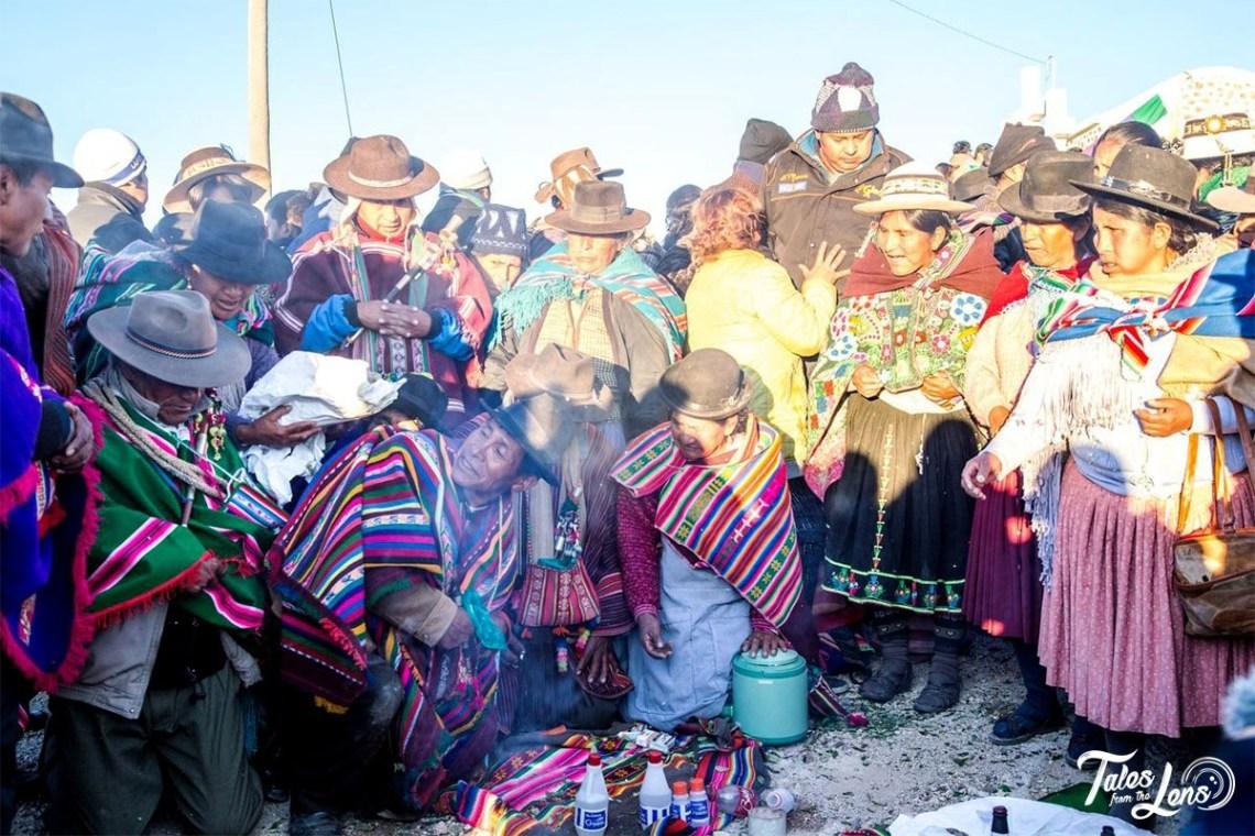 Aymara New Year Celebrations, Potosi Bolivia 2017 - Photo by Tales From The Lens - https://talesfromthelens.com/2018/01/28/bolivia-aymara-new-year-photo/