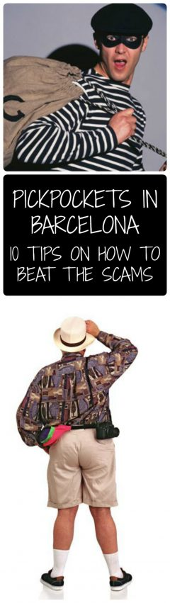 how to beat the Pickpockets in Barcelona