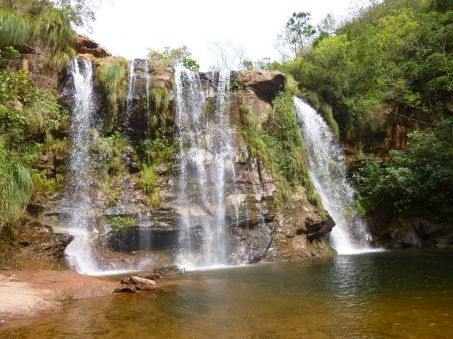 Waterfalls at Las Cuevas, near Samaipata