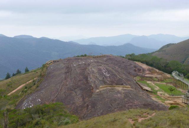El Fuerte - a massive rock near Samaipata