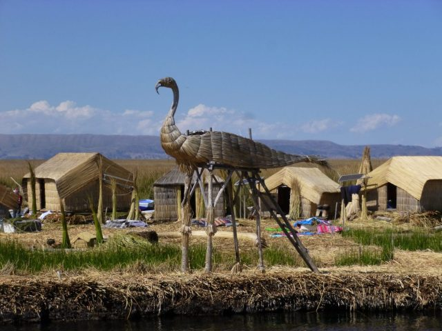 Uros Reed Beds on Lake Titicaca