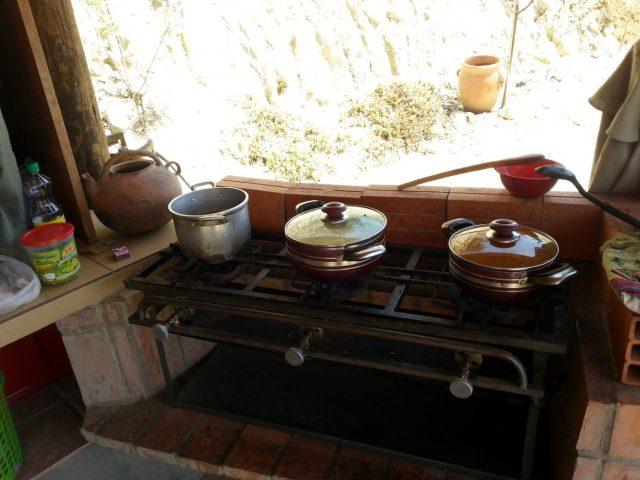 A Cooking class at Colibri Camping, La Paz