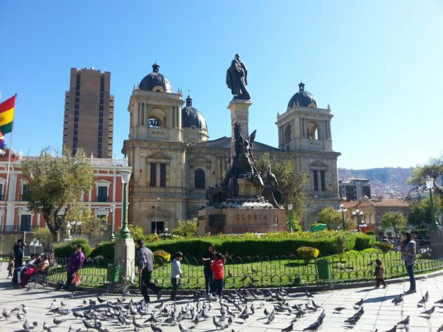 Plaza Murillo in La Paz Bolivia - what to do in La Paz