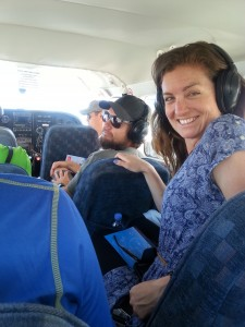 Preparing for take-off with fellow hoppers Sam & Travis - Peru Hop Reviews