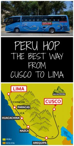 Peru Hop The Best Way from Cusco To Lima