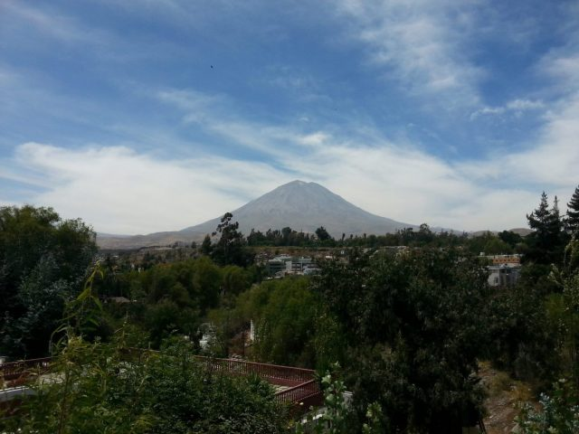 A view of El Misti from Arequipa