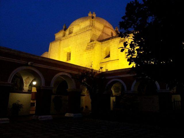 Santa Catalina Monastery by night