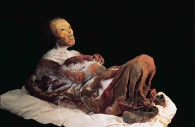The Ice-Maiden mummy Juanita