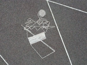 Nazca Lines: a model of the monkey bioglyph