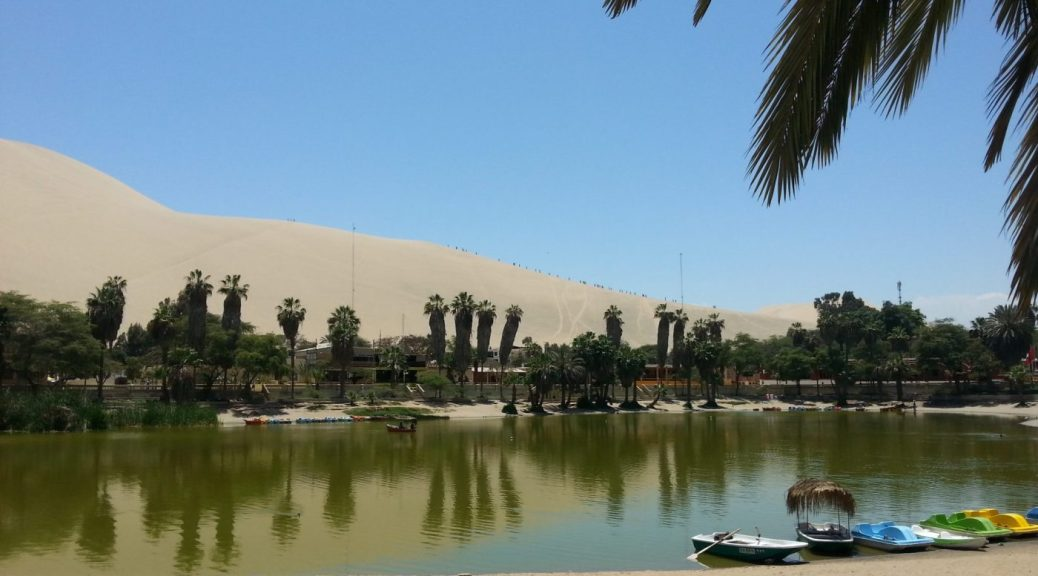 Huacachina - an Oasis in the Dessert of Peru