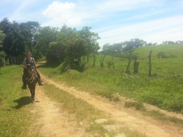 Horseriding in Guadalupe Santander