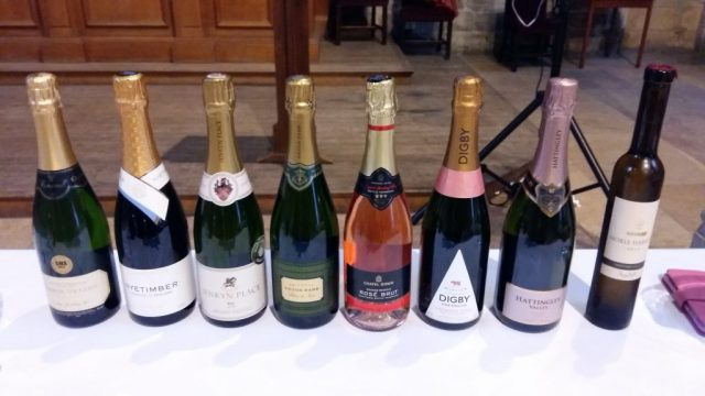 English Sparkling Wine Tasting at the Yorkshire Food and Drink Festival