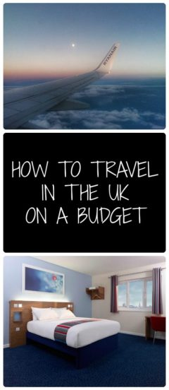 travel in the UK on a budget. cheap travel in the uk