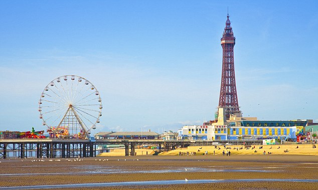 Blackpool Tower reasons to visit the north of England