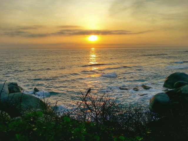Sunrise in Parque Tayrona - Where to Stay in Tayrona National Park