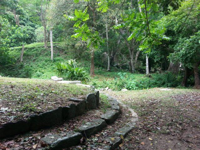 Terraces in Pueblito, Parque Tayrona Park