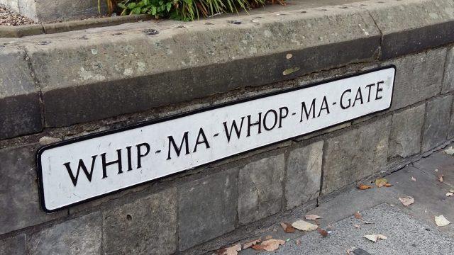 Whip-Ma-Whop-Ma-Gate - A Backpacker's Guide to York on a Budget