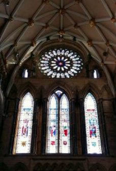 Photos of York Minster - The Great East Window