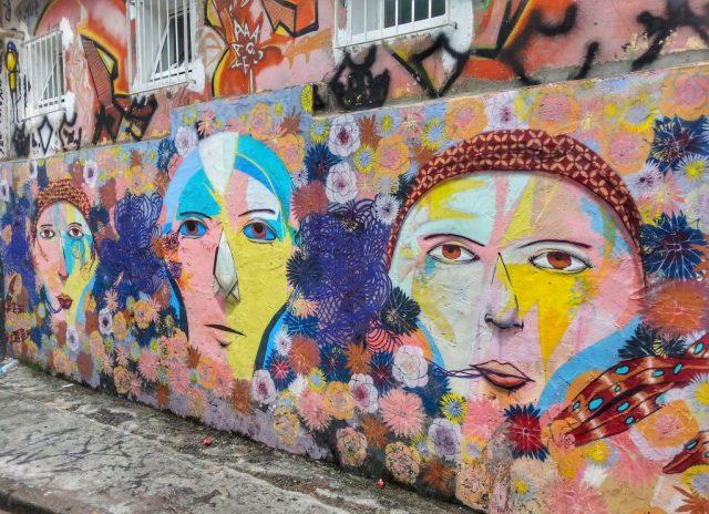 Beco de batman Sao paulo street art in sao paulo