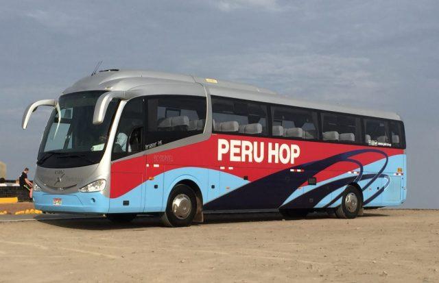 Peru Hop bus Lima to Cusco