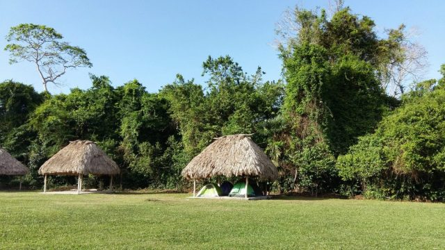 Bring a tent & camp, or hire a hammock to see the Tikal sunrise