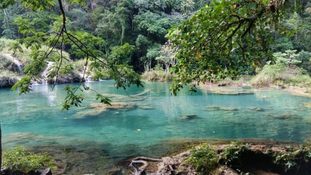 Pools at Semuc Champey Guatemala - The Best Hostels in Semuc Champey