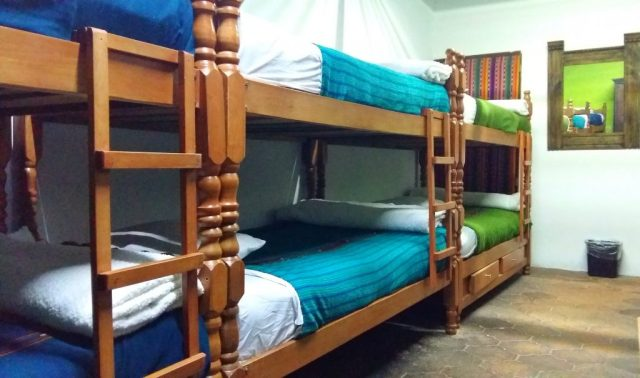 Choose your dorm size from 4 beds and up! Hostels are awesome