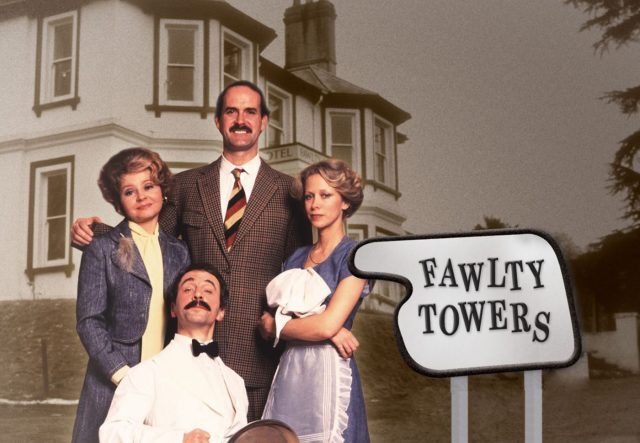 hostel nightmares Fawlty Towers