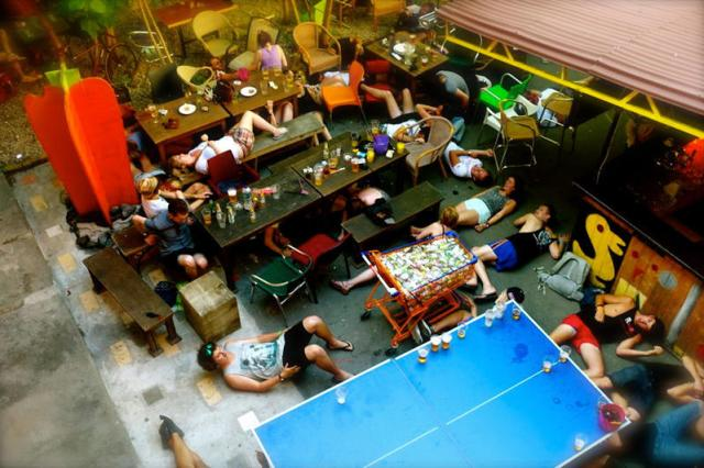 Party Hostels are an interesting experience! Hostel nightmares
