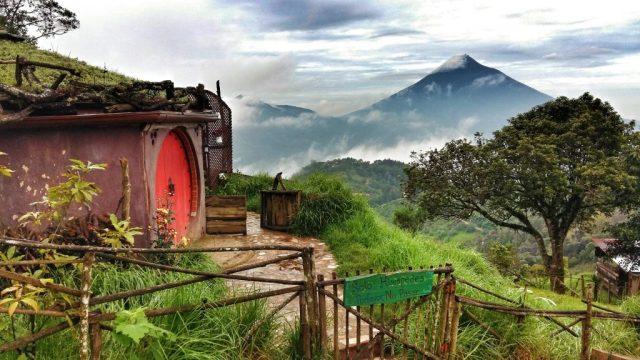 Hobbitenango - a unique hotel close to Antigua Guatemala