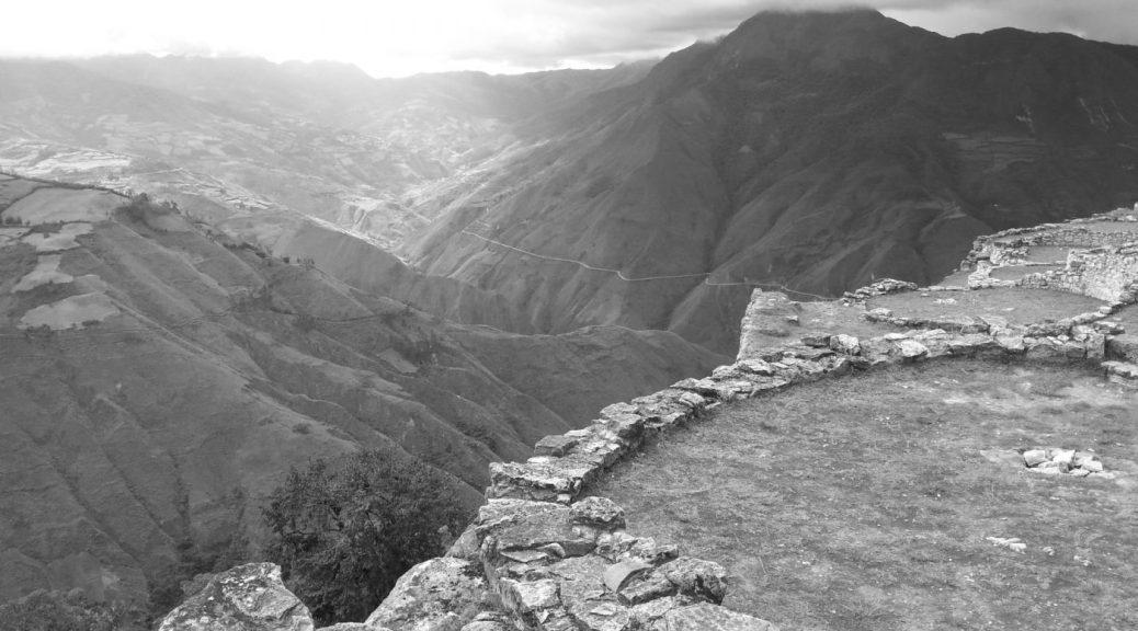 Kuelap Pre Inca Ruins in Chachapoyas Peru