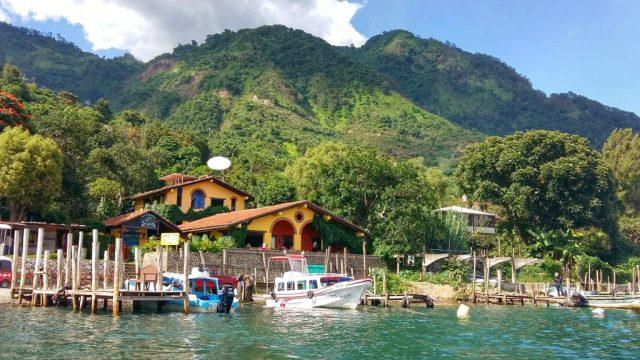 La Iguana Perdida Santa Cruz Lake Atitlan Guatemala