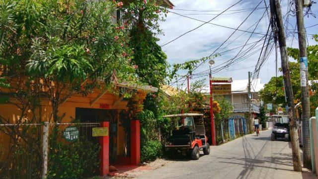 Utila Honduras is a safe little town