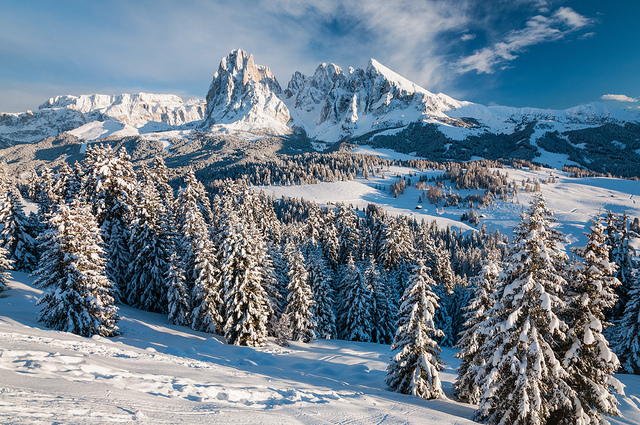 Where to Go in Italy in Winter - The Dolomites in Winter