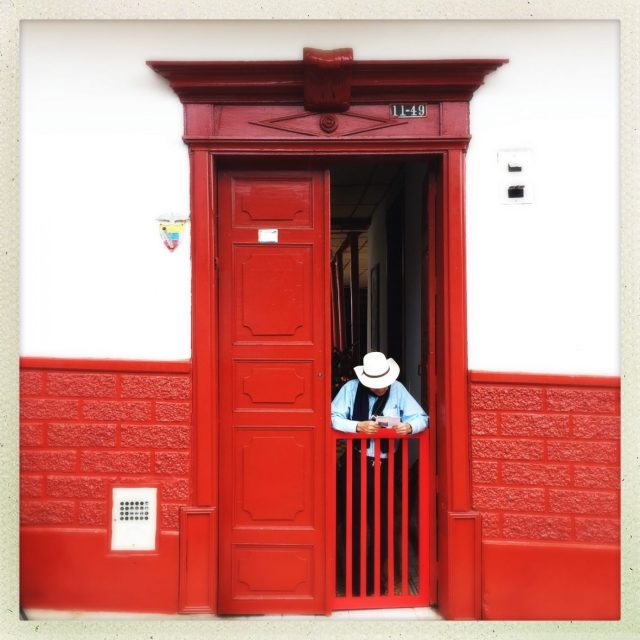 Doorway in Colombia - why visit Colombia