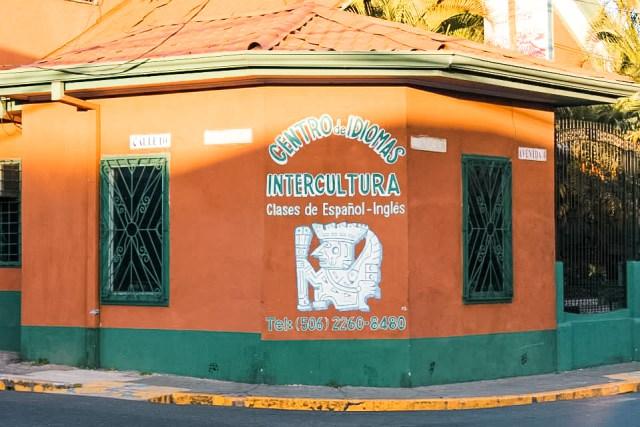 intercultura building - spanish school in Costa Rica