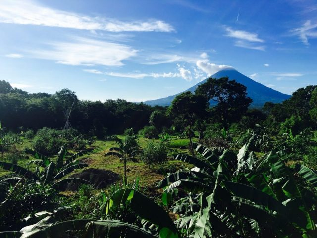 One of the Views from El Zopilote in Ometepe Nicaragua