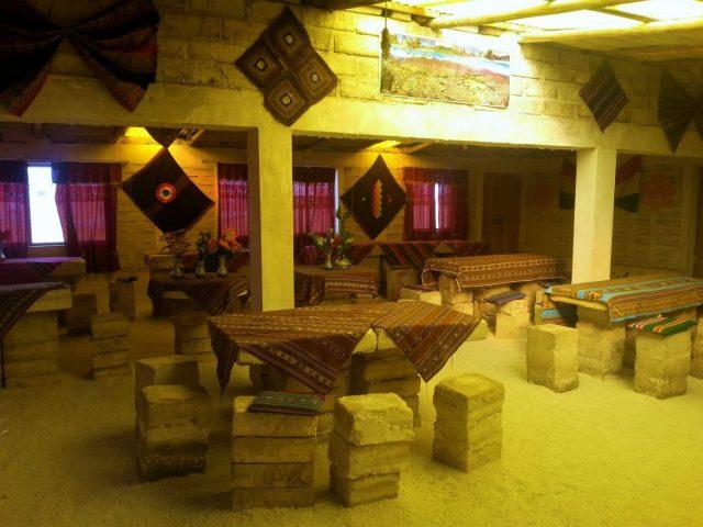 Uyuni Salt Flats: El Salar de Uyuni Tour in Bolivia - The Salt Hotel we stayed in at the Salar