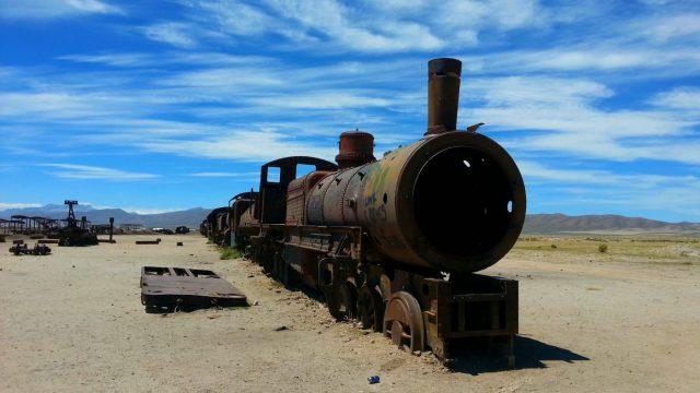 Uyuni Salt Flats: El Salar de Uyuni Tour in Bolivia - The Train Cemetary