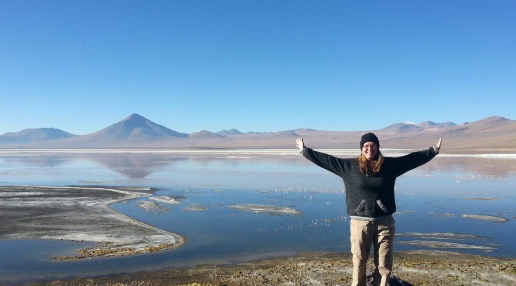 Me enjoying Bolivia - what I learned after 2 years of full time travel