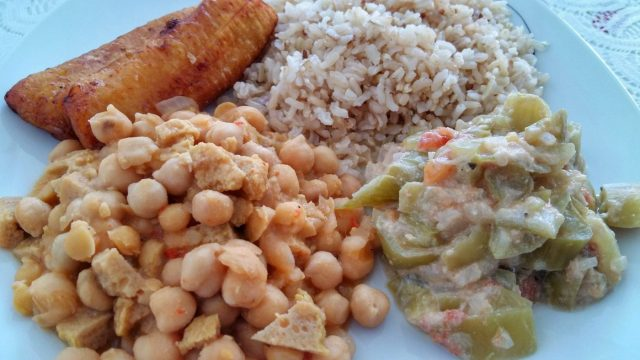 Graciela whips up delicious vegetarian meals in Guadalupe