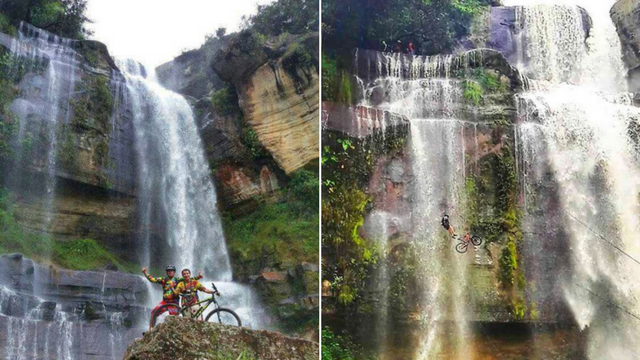 The Mountain Biking Expedition in Guadalupe. Credit: MTB Guadalupe Biking Expedition