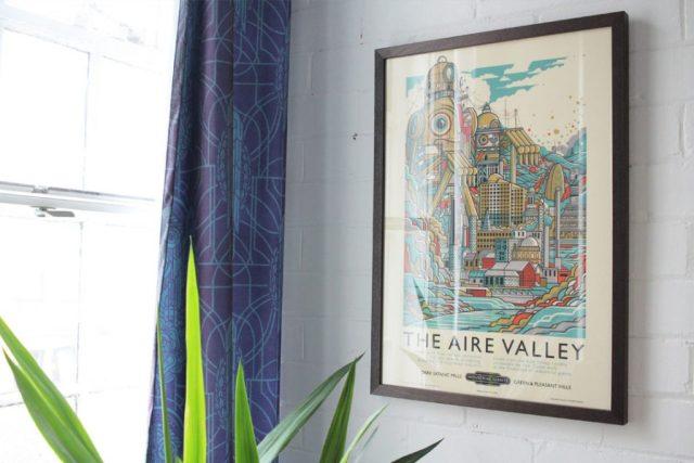Fred Dibnah Suite Dorm Room, where I stayed. Photo Credit Art Hostel Leeds