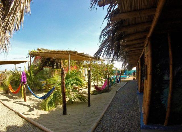 Psygon Surf Camp hotel in Mancora Peru