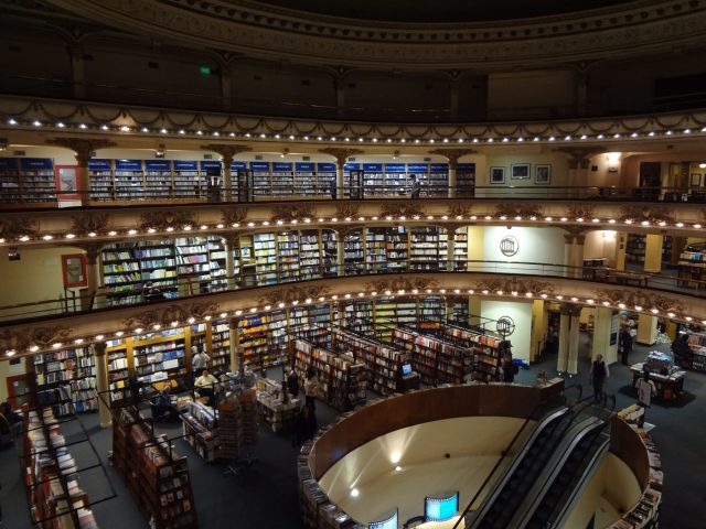 A huge Buenos Aires bookstore in an old theatre, El Ateneo Grand Splendid - Things to do in Buenos Aires Like a local