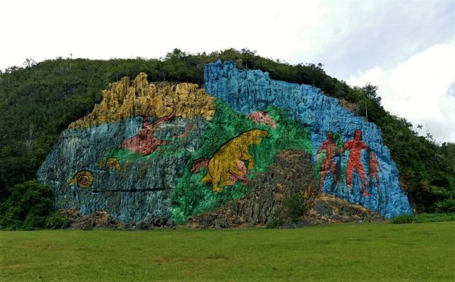 El Mural de la Prehistoria, Vinales Cuba